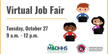 MDHHS Virtual Job Fair - Co-Host DAAA tickets