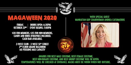 MAGAWEEN Costume Party with Andrea Catsimatidis tickets