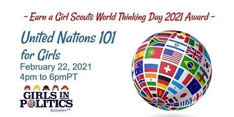 United Nations 101 for Girls Webinar tickets