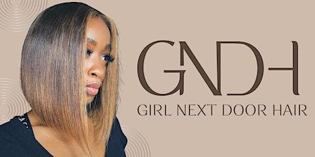 Girl Next Door Hair: POP-UP tickets