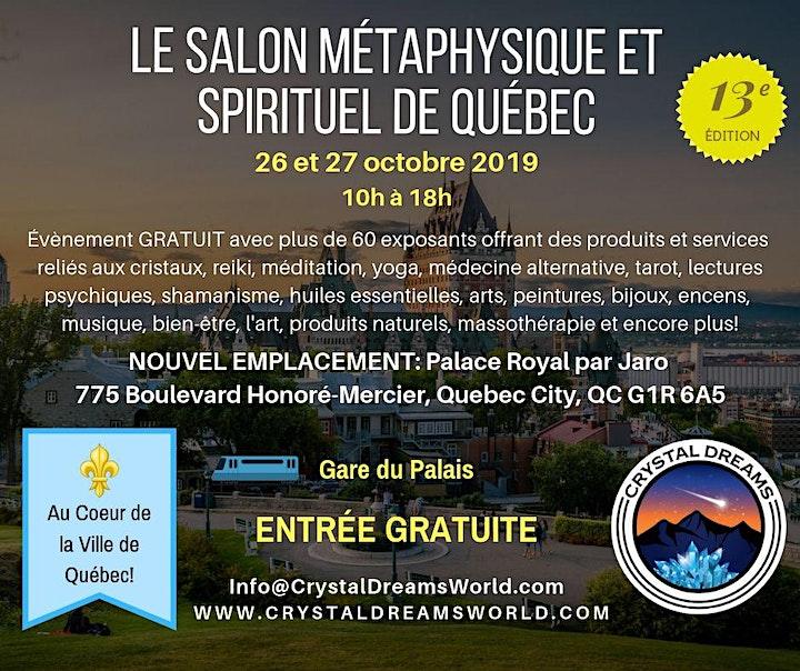 Le Salon Métaphysique et Spirituel de Québec image