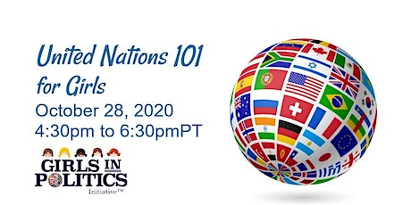 United Nations for Girls Webinar tickets
