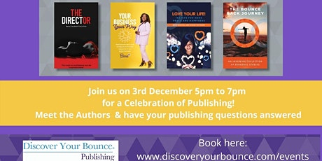 Bouncy Books - A Celebration of Publishing! tickets