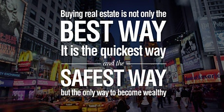 Build Real Wealth/Passive Income w/ Real Estate tickets