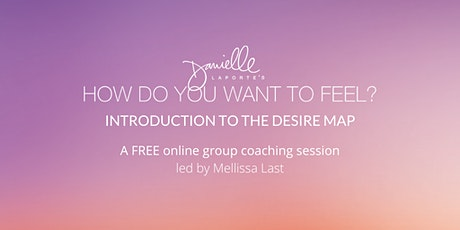 Introduction to The Desire Map tickets