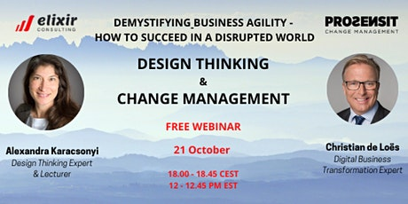 Free - Demystifying Business Agility – How to succeed in a disrupted world tickets