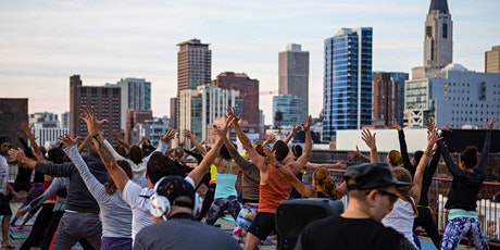 Rooftop Yoga Party + Brunch tickets