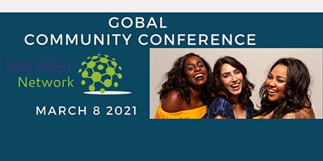 JoinHer Network Global Community Conference 2021 tickets