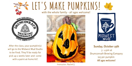 Let's Make Pumpkins - ALL AGES - at Drumconrath - 10/25! tickets