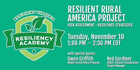 Resilient Rural America Project tickets