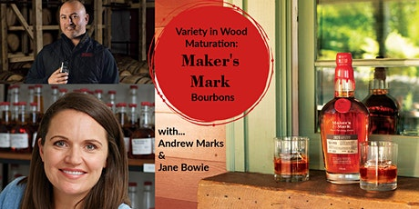 Variety in Wood Maturation: Maker's Mark Bourbons tickets