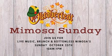 Oktoberfest Mimosa Sunday! tickets
