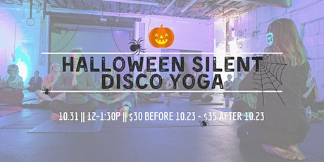 Halloween Silent Disco Yoga tickets
