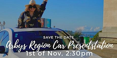 Arby Togiavalu Region Car Presentation tickets