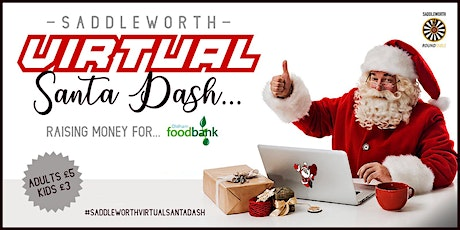 Saddleworth VIRTUAL Santa Dash 2020 tickets