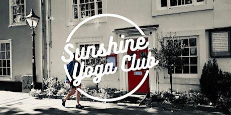 Sunshine Yoga Class tickets