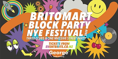 Britomart Block Party NYE 2020 tickets