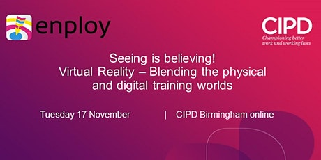 Virtual Reality - Blending the physical and digital training worlds tickets