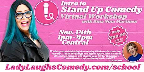 Intro to Stand Up Comedy tickets