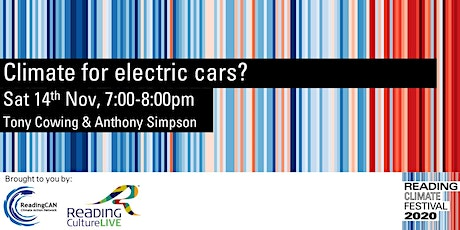 CLIMATE FOR ELECTRIC CARS?#ReadingClimateFestival tickets
