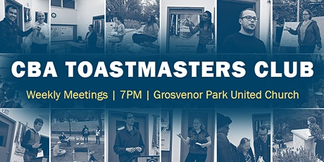Saskatoon CBA Toastmasters Club Meeting tickets