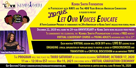 Let Our Voices Educate - Youth Leadership Program tickets