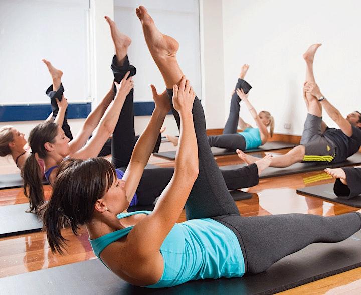 Immagine Lezione di prova corso ginnastica metodo PILATES sia In presenza che ONLINE