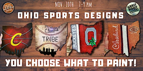 Ohio Sports Paint Night | Choose your Design! tickets
