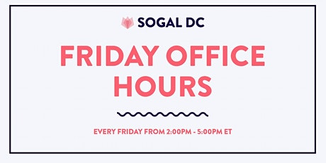 SoGal DC: Friday Office Hours tickets
