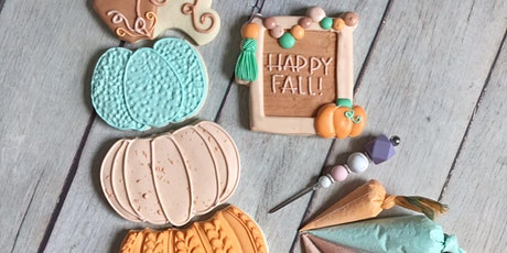 Fall Cookie Decorating Class tickets