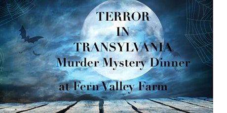 """Terror in Transylvania"" Murder Mystery Dinner tickets"