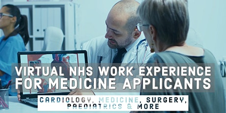 Medical Work Experience | For Students Applying for Medicine in the UK tickets