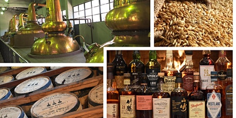Whisky Advanced Course, cycle of 4 live online sessions- Starts Nov 4 2020 tickets
