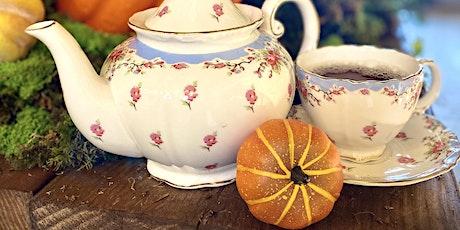 Pumpkin Spice Teatime in the Grand Ballroom @ The Kentucky Castle