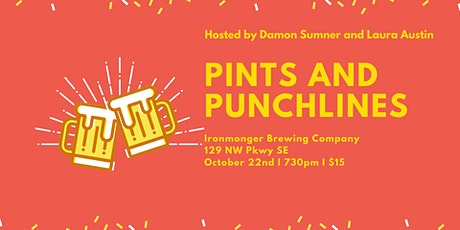 Pints and Punchlines at Ironmonger Brewing tickets
