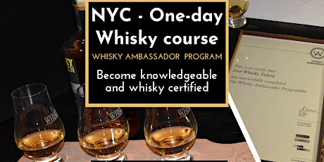 Whisk(e)y - Want to Become Knowledgeable & certified? Course in NYC! tickets