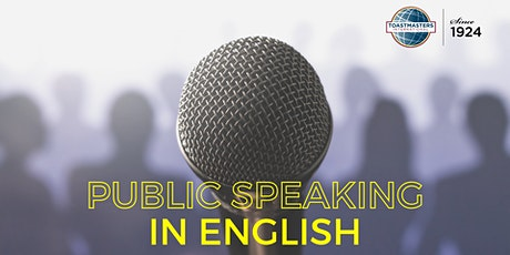 Online Event: Public Speaking  in English with the Verona Toastmasters Club biglietti