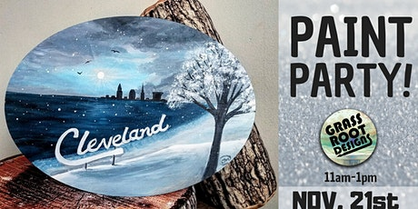 Snowy Edgewater | Paint Party! tickets