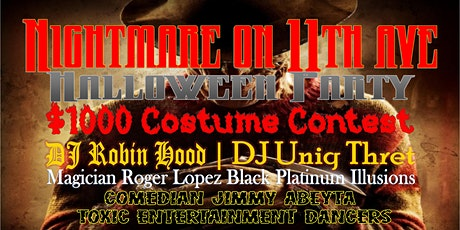 Nightmare On 11th Ave Halloween Party tickets