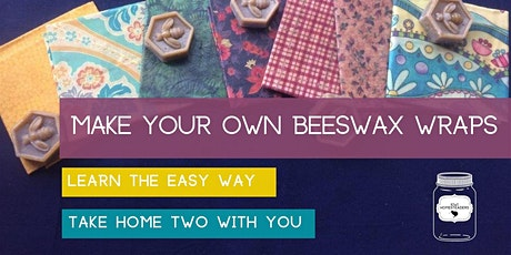 Andrea's Beeswax wrap making workshop tickets