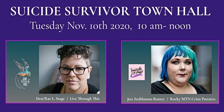 Suicide Survivors Town Hall - Mesa County tickets