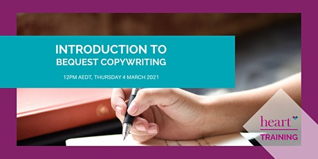 Introduction to Bequest Copywriting