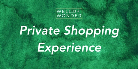 Private Shopping Experience tickets