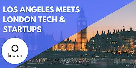 Los Angeles meets London Tech & Startups tickets