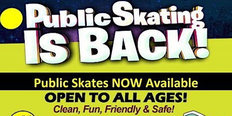 Saturday Family Roller Skating at BBP 2:30pm-5:00pm tickets
