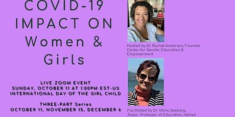 COVID's Impact on Women & Girls (Series) tickets
