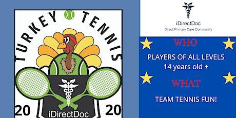 8th Annual iDirectDoc Turkey Tennis Fun-Raiser! tickets