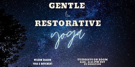 Gentle Restorative Yoga tickets