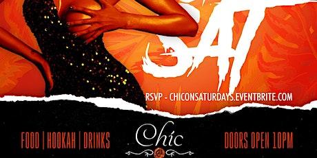 Chić on Saturday tickets