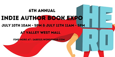 6th Annual Indie Author Book Expo tickets